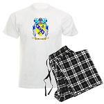 Burness Men's Light Pajamas