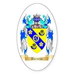 Burness Sticker (Oval 50 pk)