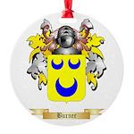 Burner Round Ornament