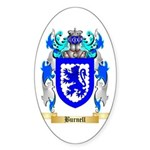 Burnell Sticker (Oval 50 pk)