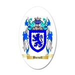 Burnell 20x12 Oval Wall Decal