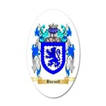 Burnell 35x21 Oval Wall Decal
