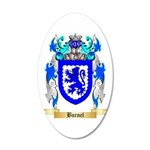 Burnel 20x12 Oval Wall Decal