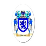 Burnel 35x21 Oval Wall Decal