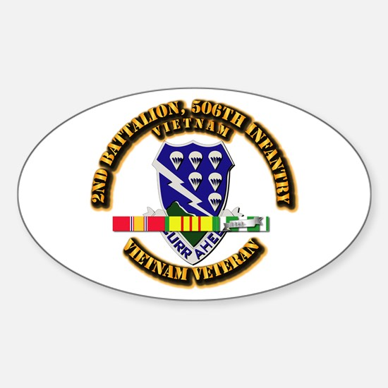 Army - 2nd Battalion, 506th Infantry Decal
