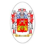 Burnand Sticker (Oval 50 pk)