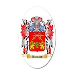 Burnand 20x12 Oval Wall Decal