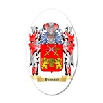 Burnand 35x21 Oval Wall Decal