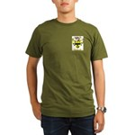 Burn Organic Men's T-Shirt (dark)