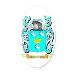Burmeister Oval Car Magnet