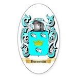 Burmeister Sticker (Oval 50 pk)