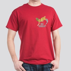 Gecko Got Crickets Cardinal Color (pocket) T-Shirt
