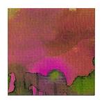 The Woods II Magenta [Part 1 of 4] Tile Coaster