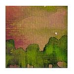 The Woods II Magenta [Part 2 of 4] Tile Coaster