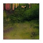 The Woods II Magenta [Part 4 of 4] Tile Coaster