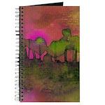 The Woods II Magenta Journal