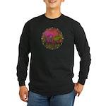 The Woods II Magenta Long Sleeve Dark T-Shirt