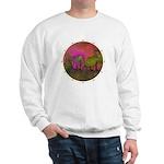 The Woods II Magenta Sweatshirt