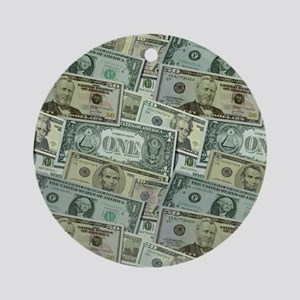 Easy Money Ornament (Round)