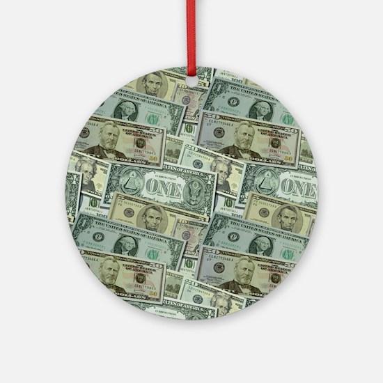 Easy Money Ornament (Round)