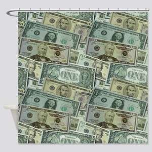 Easy Money Shower Curtain
