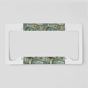 Easy Money License Plate Holder