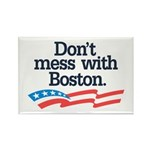 Dont Mess With Boston Rectangle Magnet