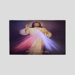 Divine Mercy Gold Area Rug