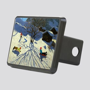, France (oil on canvas) - Rectangular Hitch Cover