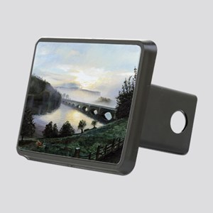 (oil on canvas) - Rectangular Hitch Cover