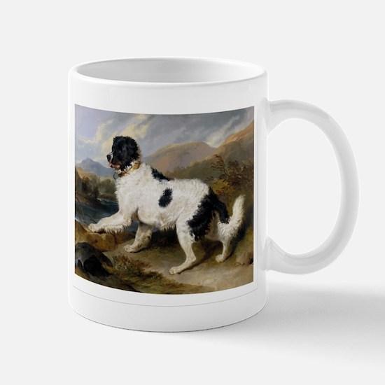 Painting of Newfoundland Landseer Mug