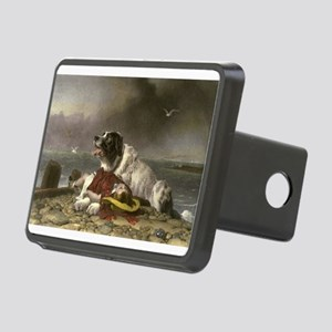 Painting of Landseer Rescue Hitch Cover