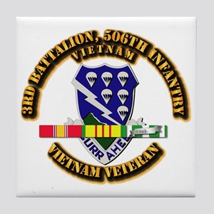 Army - 3rd Battalion, 506th Infantry Tile Coaster
