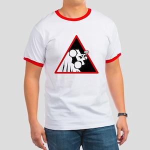 Hill Climb DUDE Danger Signs T-Shirt