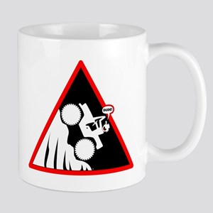 Hill Climb DUDE Danger Signs Mug