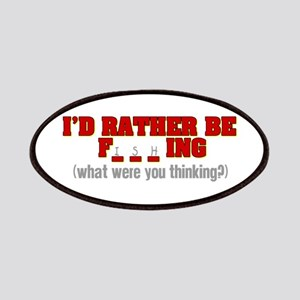 Rather Be Fishing Patches