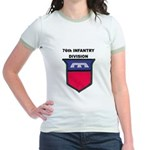 76TH INFANTRY DIVISION Jr. Ringer T-Shirt