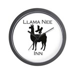 Llama Nee Wall Clock