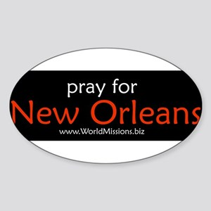 pray for New Orlean... Sticker