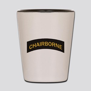 Chairborne military style tab Shot Glass