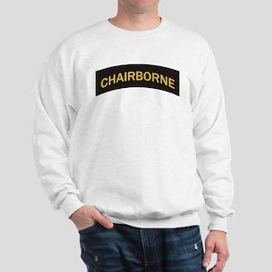 Chairborne military style tab Sweatshirt