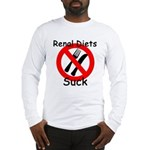 Renal Diets Suck Long Sleeve T-Shirt