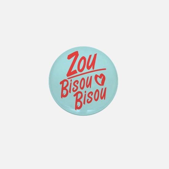 Zou Bisou Bisou Mini Button