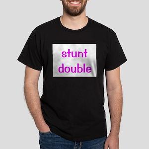 Stunt Double - pink Dark T-Shirt