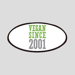 Vegan Since 2001 Patches