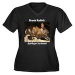 Brush Rabbit Plus Size T-Shirt