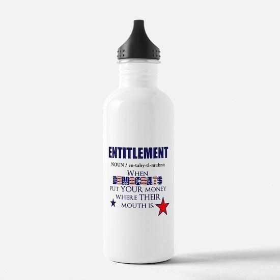 Entitlement Water Bottle