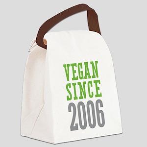Vegan Since 2006 Canvas Lunch Bag