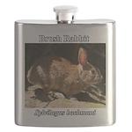 Brush Rabbit Flask