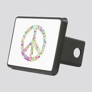 Graffiti Peace Sign Hitch Cover